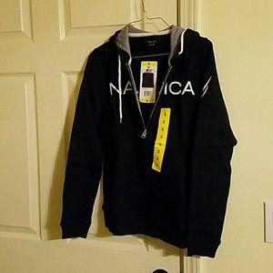 Women's Nautica Zip Up Hooded Sweatshirts